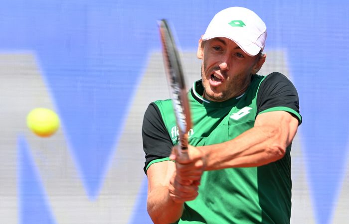 John Millman in action in Munich. Picture: Getty Images