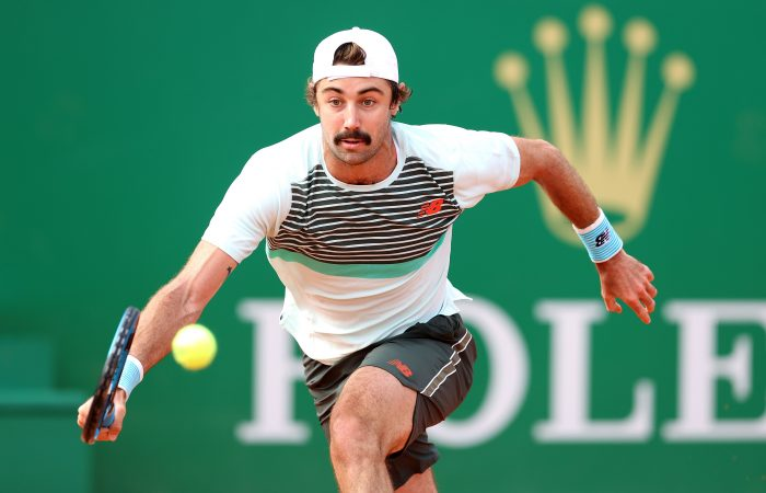 Jordan Thompson in action in Monte-Carlo. Picture: Getty Images