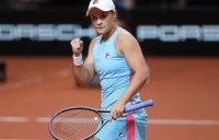 World No.1 Ash Barty at the Porsche Grand Prix in Stuttgart; Getty Images