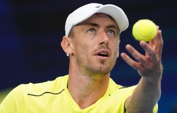 John Millman competing in Australia earlier this year.