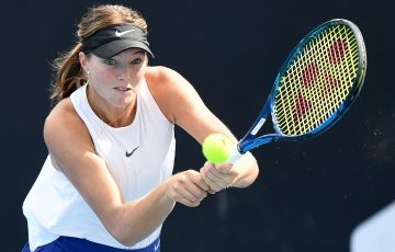 Olivia Gadecki is one to watch. Picture: Tennis Australia