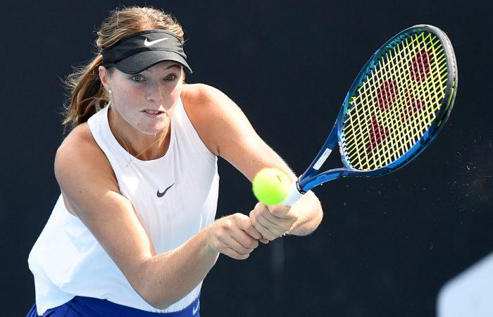 Olivia Gadecki. Picture: Tennis Australia