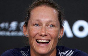 Sam Stosur. Picture: Tennis Australia