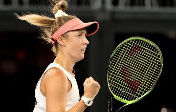 Storm Sanders. Picture: Tennis Australia