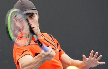Chris O'Connell. Picture: Tennis Australia