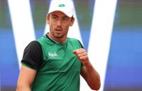 John Millman in Madrid. Picture: Getty Images