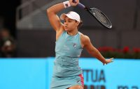Ash Barty at the Madrid Open; Getty Images