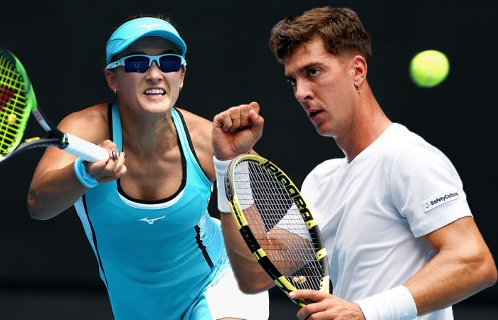 Arina Rodionova and Thanasi Kokkinakis are among the Aussie hopes in Roland Garros qualifying. Pictures: Tennis Australia