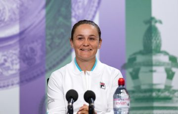 Ash Barty ahead of 2021 Wimbledon; Getty Images