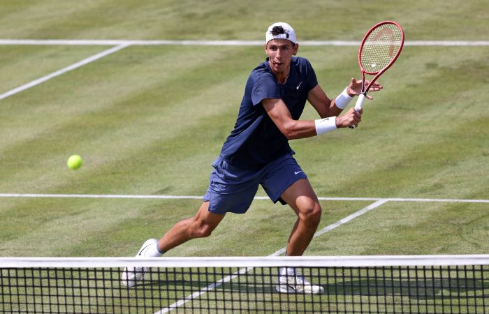 Alexei Popyrin in action. Picture: Getty Images
