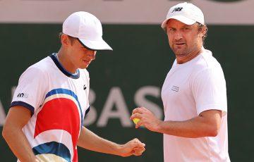 Alex de Minaur and Matt Reid have lost in the second round at Roland Garros. Picture: Getty Images