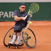Dylan Alcott aims to maintain an unbeaten record singles record at Roland Garros; Getty Images