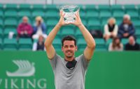 Alex Bolt celebrates his title win in Nottingham. Picture: Getty Images