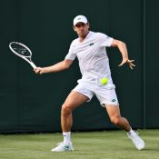 John Millman at Wimbledon 2021; Getty Images