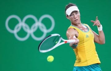 Sam Stosur competing at the Rio 2016 Olympic Games. Picture: Getty Images