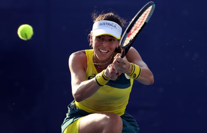 Ajla Tomljanovic at the Tokyo Olympics; Getty Images