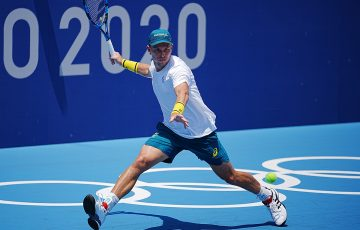 James Duckworth in Tokyo. Picture: ITF