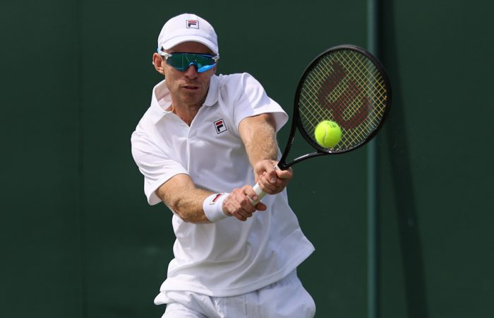 John Peers at Wimbledon. Picture: Getty Images