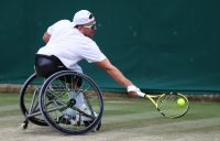 Dylan Alcott at Wimbledon. Picture: Getty Images