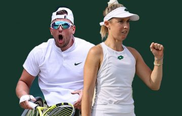 Australians Dylan Alcott and Storm Sanders feature in doubles action on day 11 at Wimbledon.