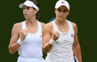 Ajla Tomljanovic and Ash Barty have advanced to the fourth round at Wimbledon.
