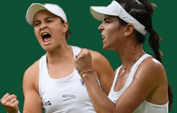 Ash Barty and Ajla Tomljanovic will meet in an all-Australian quarterfinal at Wimbledon.