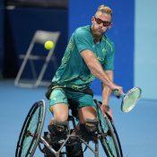 Ben Weekes at the Tokyo 2020 Paralympics.