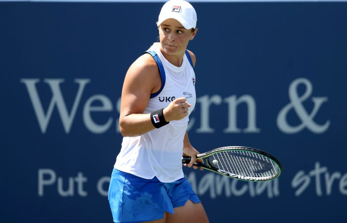 Ash Barty is into the final at Cincinnati. Picture: Getty Images