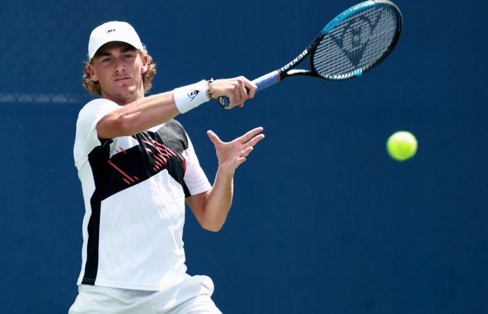 Max Purcell in action in Winston-Salem. Picture: Getty Images