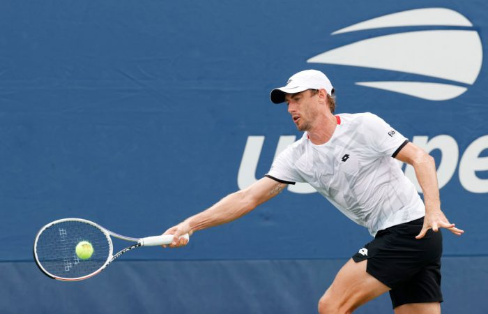 John Millman at the US Open/Getty Images
