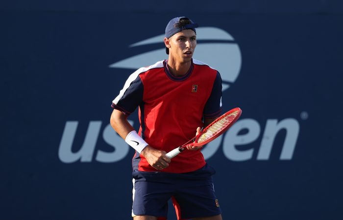 Australian Alexei Popyrin at the US Open. Picture: Getty Images