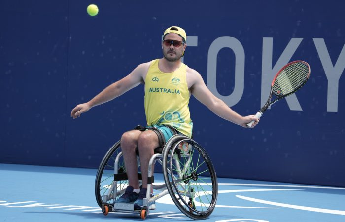 Martyn Dunn prepares for his Paralympic Games debut in Tokyo.