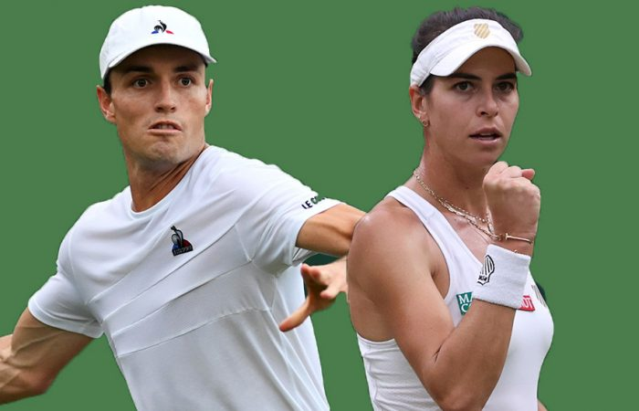 Chris O'Connell and Ajla Tomljanovic continue to improve their rankings. Pictures: Getty Images