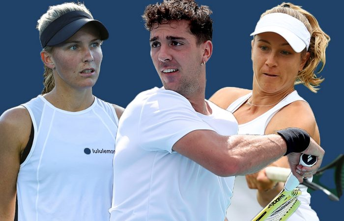 Maddison Inglis, Thanasi Kokkinakis and Ellen Perez are among the Australian hopes in the US Open 2021 qualifying competition.