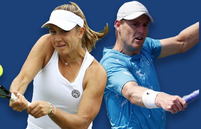 Ellen Perez and Luke Saville will play doubles at the 2021 US Open. Pictures: Getty Images