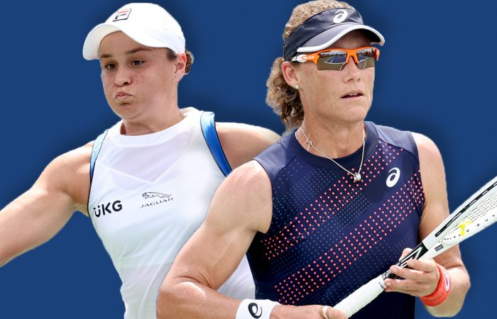 Ash Barty and Sam Stosur are aiming to add to their Grand Slam tallies at this year's US Open. Pictures: Getty Images