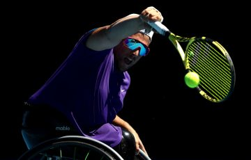Dylan Alcott is aiming to complete a Gold Slam at the US Open; Getty Images