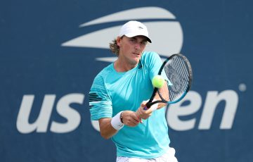 Max Purcell at the US Open. Picture: Getty Images