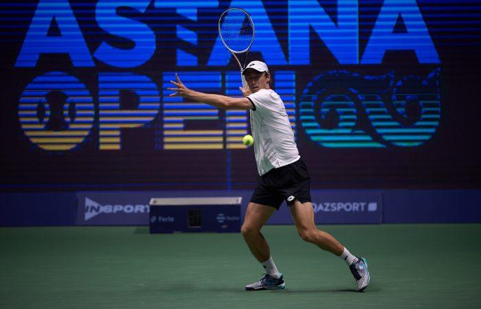 John Millman in Nur-Sultan. Picture: Astana Open