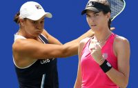 Ash Barty and Ajla Tomljanovic are through to the US Open second round. Pictures: Getty Images