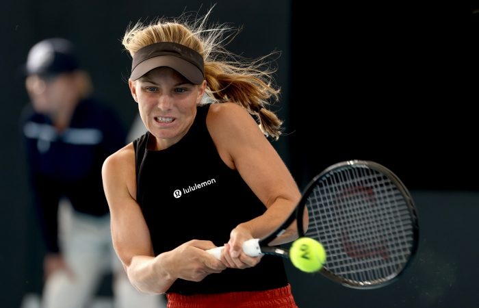 Australian Maddison Inglis in action. Picture: Tennis Australia