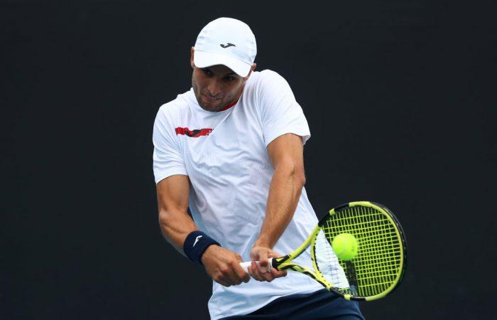Aleksandar Vukic advances to the second round at Indian Wells.