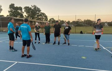 A Blind and Low Vision Program is proving popular in Perth. Picture: Supplied.