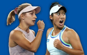 Daria Gavrilova and Priscilla Hon have joined the Australian Billie Jean King Cup squad. Pictures: Getty Images