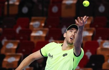 John Millman in action. Picture: Getty Images