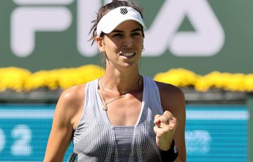 Ajla Tomljanovic enjoyed a career-best run at Indian Wells. Picture: Getty Images