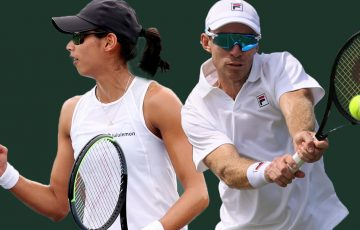 Astra Sharma and John Peers are among the biggest ranking movers this week. Pictures: Getty Images